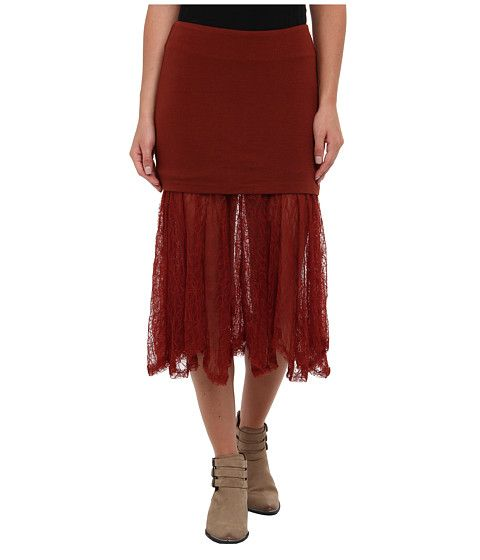 Free People Two for One Skirt