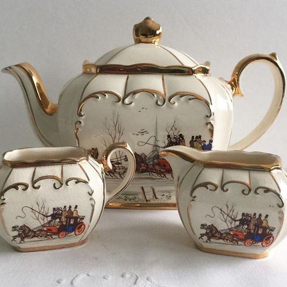 Cube Sadler Tea Set