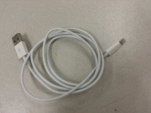 USB lightning cable for iphone 5 by Generic, http://www.amazon.com/dp/B009CA763I/ref=cm_sw_r_pi_dp_bI13qb0G99GJM