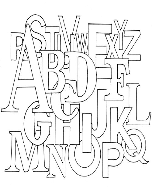 alphabet for coloring page 1 gif 500 215 630 typography pinterest coloring pages colouring