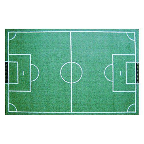 LA Rug Inc. L.A. Rugs Soccer Field Kids Area Rug, Green, Synthetic, 3 x 5 LA Rug http://www.amazon.com/dp/B00E2G9AKO/ref=cm_sw_r_pi_dp_v6-fvb1WZBVGE