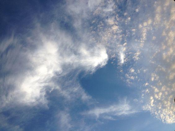 Fun clouds over the OC