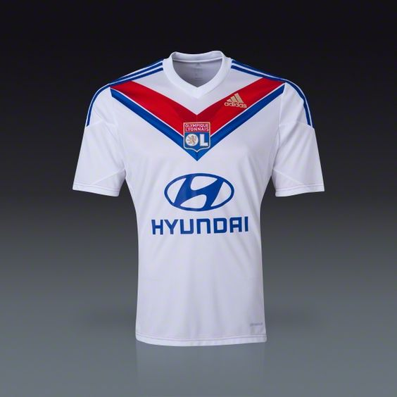 adidas Olympique Lyon Home Jersey 13/14