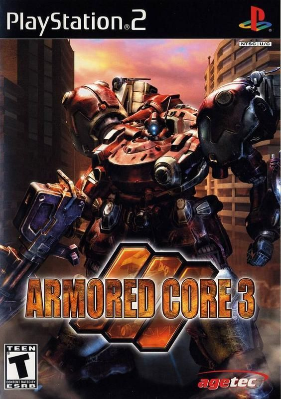 Armored Core 3 Playstation 2 In 2020 With Images Armored