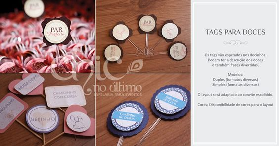 tags doces