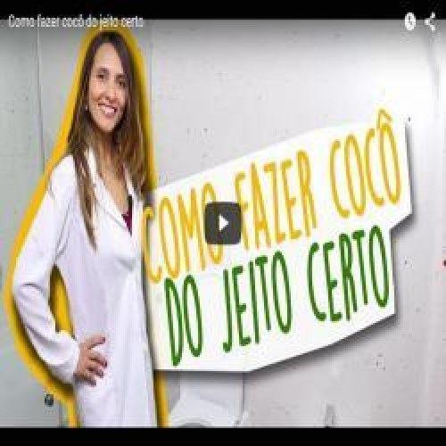 Nutricionista faz vídeo mostrando como fazer necessidade do jeito certo