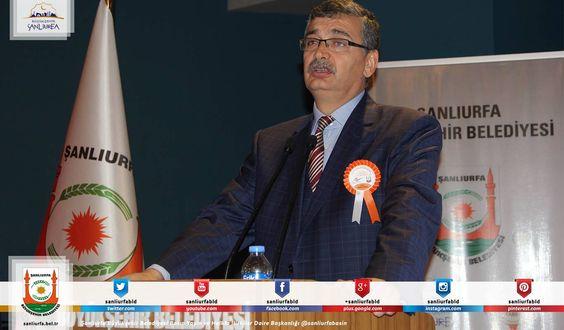 """Çevre ve Şehircilik Bakanlığı ve Şanlıurfa Büyükşehir Belediyesi'ince """"Şehir Kimliği Çalıştayı"""" düzenlendi. Şehir Kimliği Çalıştayına katılan Başkan Celalettin Güvenç, 'Ortak akılla alınan fikirler şehrimizin geleceğine ışık tutacaktır' dedi.  Haber Detay; http://www.sanliurfa.bel.tr/…/baskan-guvenc-calistay-sehrim…"""