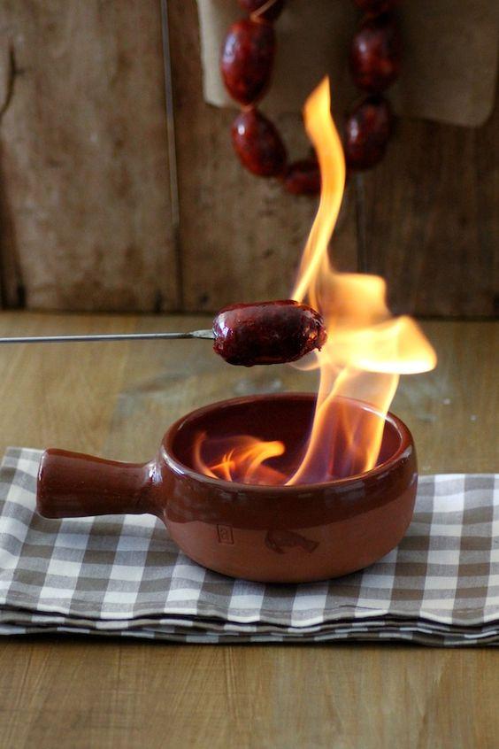 wholekitchen: Chorizo al infierno. Receta