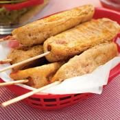 BETTERED CORN DOGS: Kids young and old love corn dogs  #corn #dog #fair