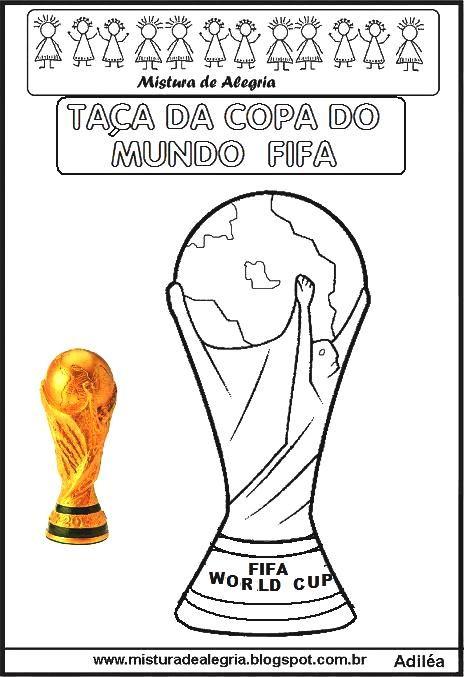 Ta C3 A7a Copa Do Mundo Fifa Imprimir Colorir Jpg 464 677 Copa