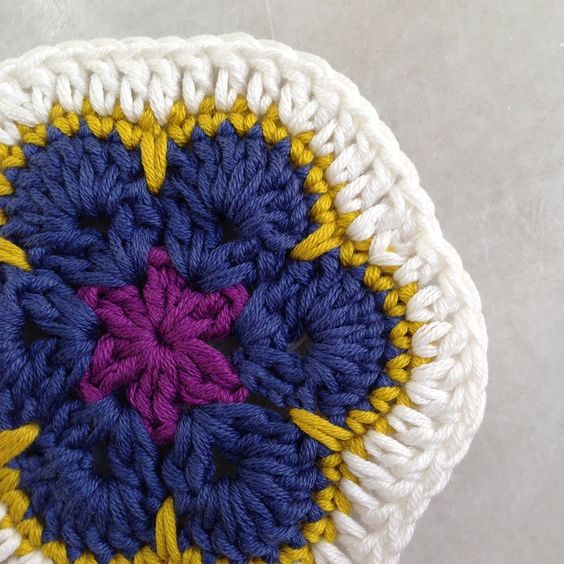 invisible knot tutorial invisible african flower crochet blanket ...