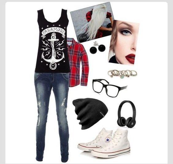 Skater Girl Outfit Idea | For Next Years School | Pinterest | Hochschulen Skater Mu00e4dchen Und ...