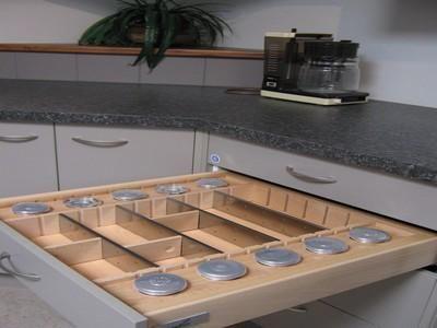 gaveta de cozinha