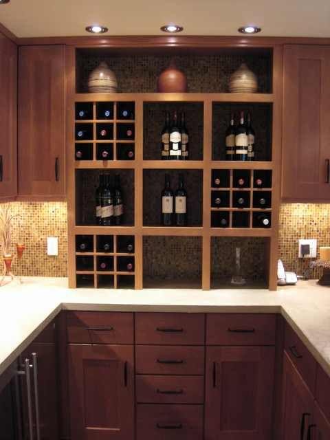 Basement bar cabinets basement pinterest shelves for Basement kitchen cabinets