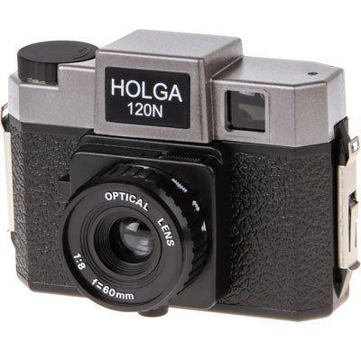 Holga 120N schwarz-s