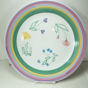 Image is loading Caleca-Meadow-Large-16-Round-Pasta-Platter-Plate-