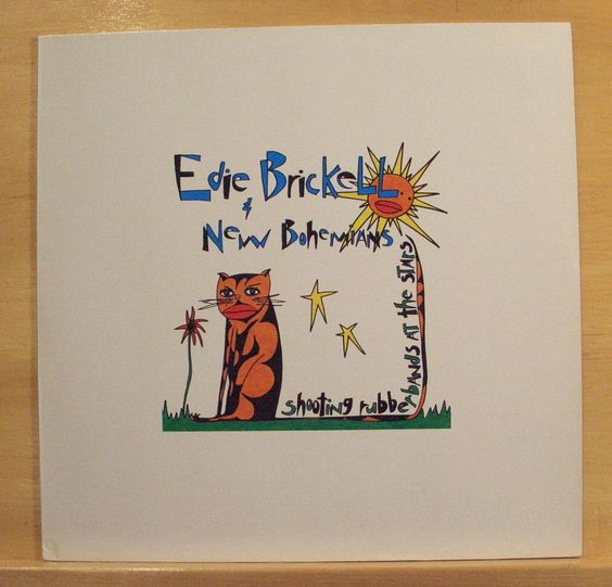 EDIE BRICKELL & New Bohemians Shooting Rubberband at the Stars - Vinyl LP - RARE