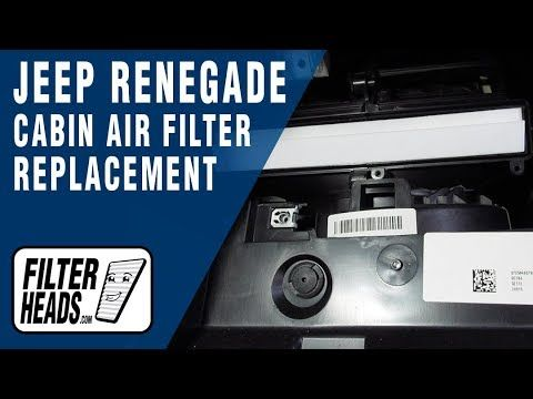 How To Replace Cabin Air Filter 2016 Jeep Renegade Youtube