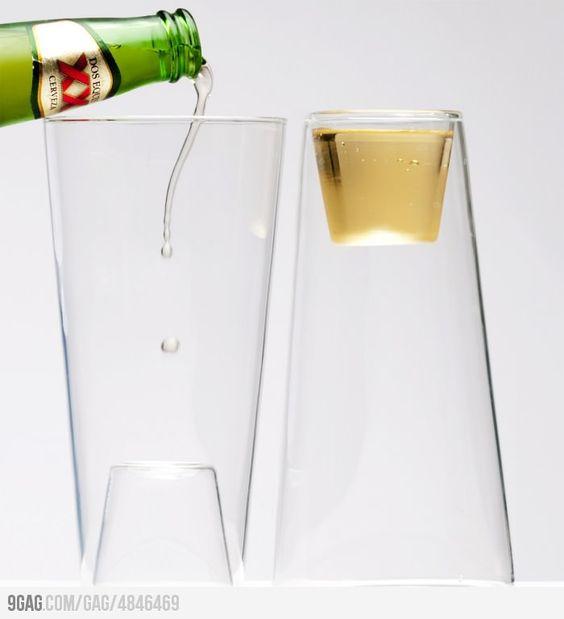 Beer/shot glass