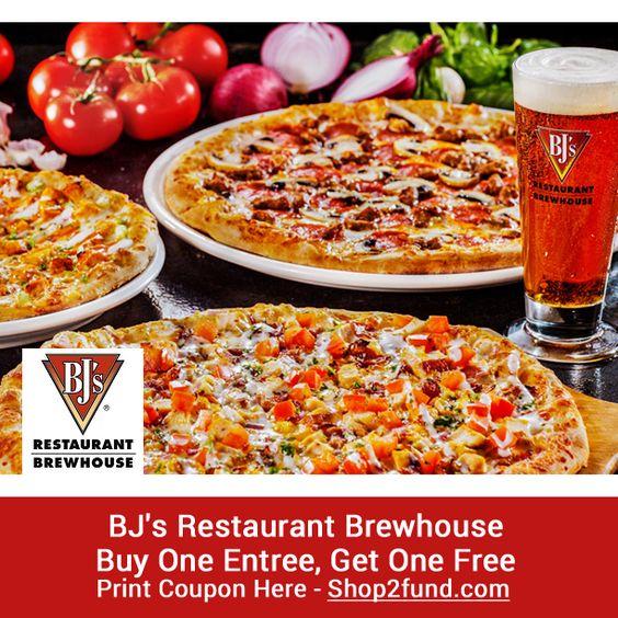 Bj's restaurant coupons