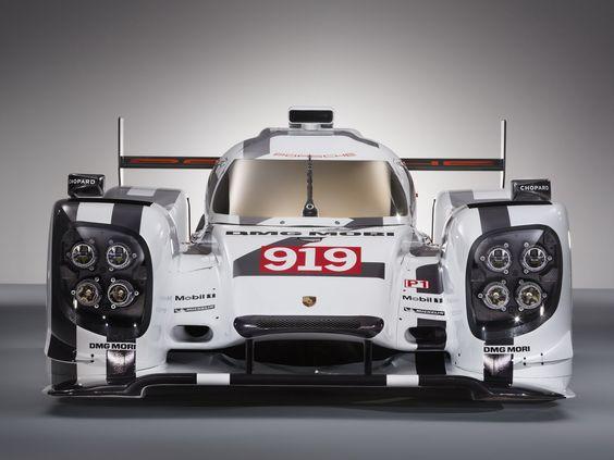 2014 Porsche 919 Le Mans Prototype Hybrid
