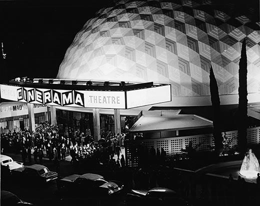 Cinerama Dome,Hollywood's Historic Buildings