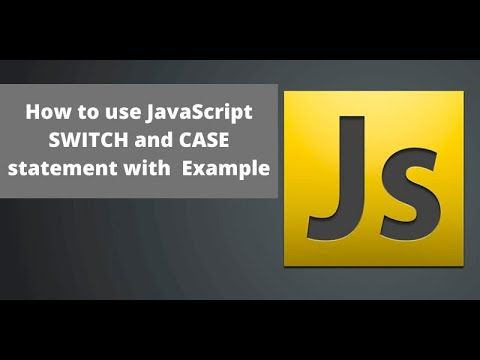 Javascript Switch Case Statement With Example In Urdu Hindi Learncod In 2020 Statement Javascript Learn To Code