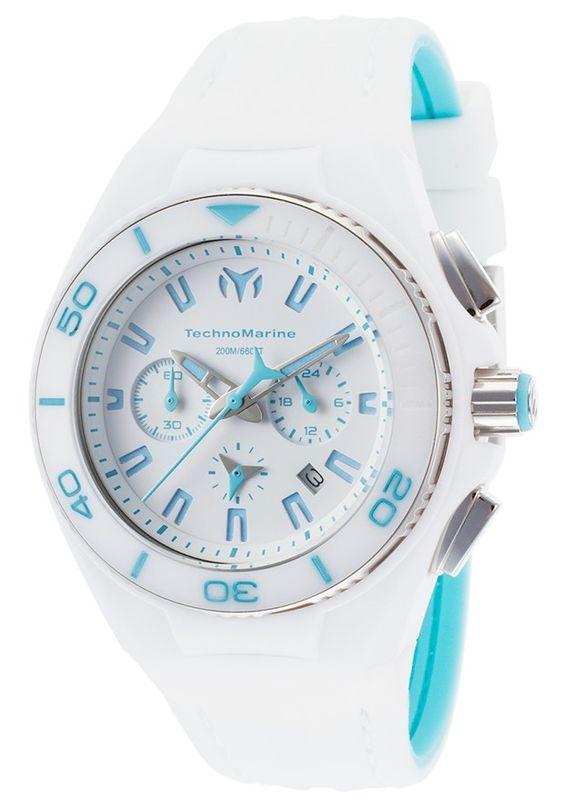 Technomarine Mujer 113011 N/a Reloj Acero inoxidable Blanco