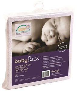 Babyrest Waterproof COT Mattress Protector   eBay