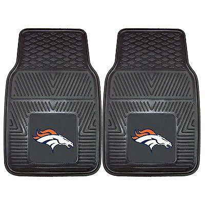Denver Broncos Heavy Duty Vinyl Floor Mat Truck Car Fanmats Mats Floormats NFL