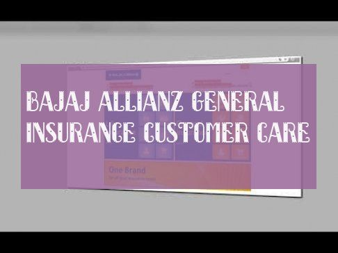 Bajaj Allianz General Insurance Kundenbetreuung Insurance