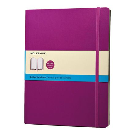 Cuaderno Extragrande Punteado blanda Moleskine púrpura