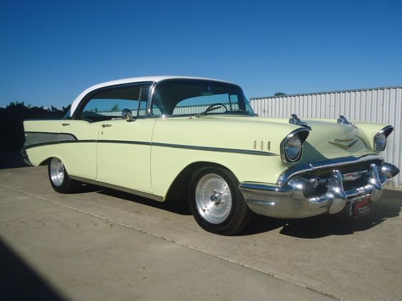 1957 Chevrolet 4 Door Pillarless Lhd Recent Import These Were Available New In Australia Rhd Assembled By Holdens With Chevrolet 1957 Chevrolet Automatic Cars