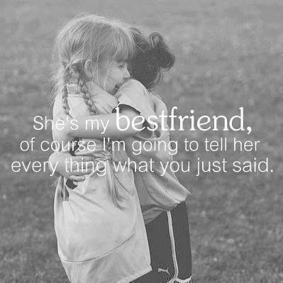 Should I tell my best friend...?