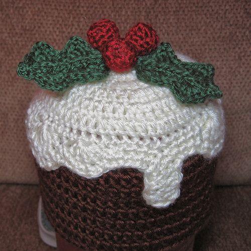 Knitting Pattern Xmas Pudding Hat : Christmas Pudding / Plum Pudding Hat pattern by Sandsteel Designs Libraries...