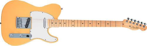 Fender Tele Sub-Sonic Long-scale guitar.