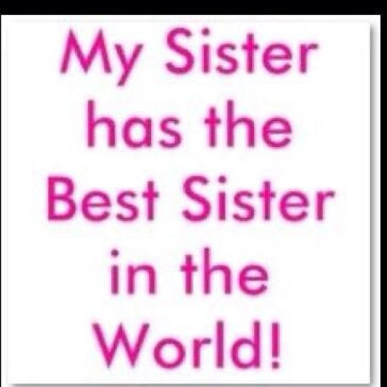 To my sissys ;)