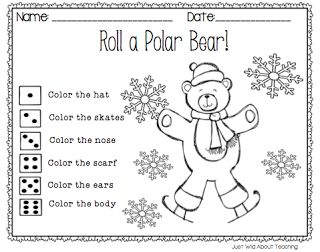 math worksheet : just wild about teaching playful polars with a chilling sale  : Polar Bear Worksheets Kindergarten