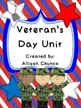 Veteran's Day Primary Printables $1