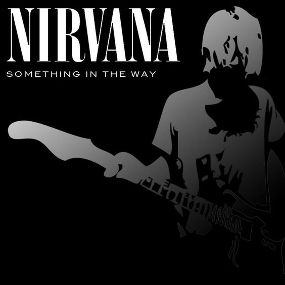 Nirvana – Something in the Way (single cover art)