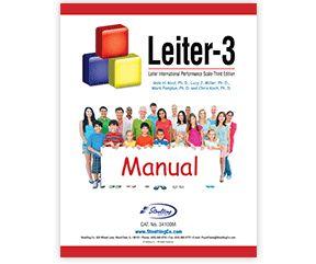 Leiter International Performance Scale—Third Edition