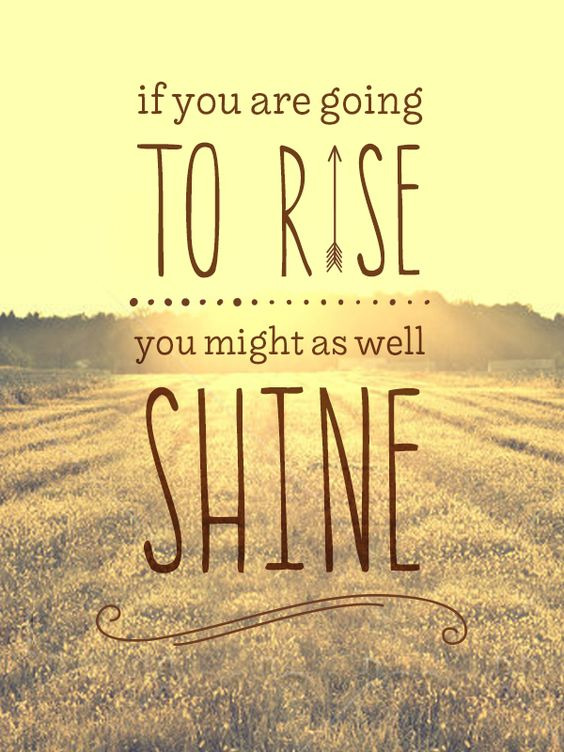 Rise and shine! Have a good day! #beautfiful #smellthespring