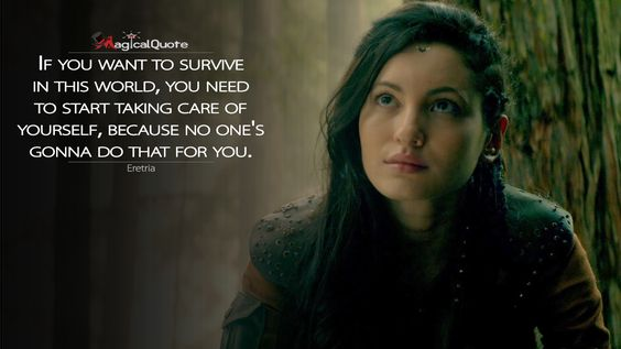 #Eretria: If you want to survive in this world, you need to start taking care of…