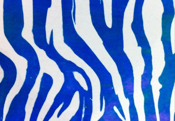 Jenny: tiger inspired screen print