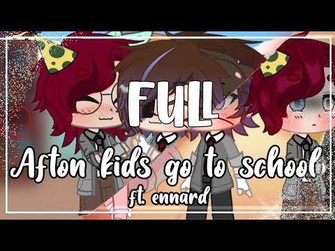 Afton Family Goes To School Gacha Club Full Youtube Afton School Scary Creepypasta