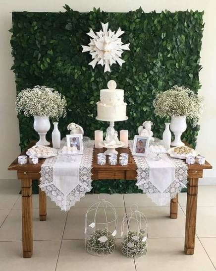 New baby boy baptism party ideas center pieces 21 ideas #party #baby