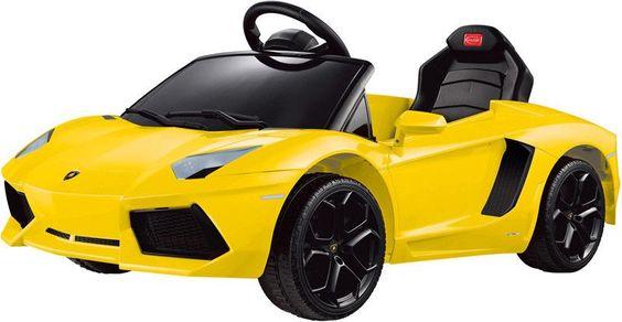 Vroom Rider VR81700-YEL Lamborghini Aventador LP700-4 Rastar 6V - Battery Operated/Remote Controlled (Yellow)