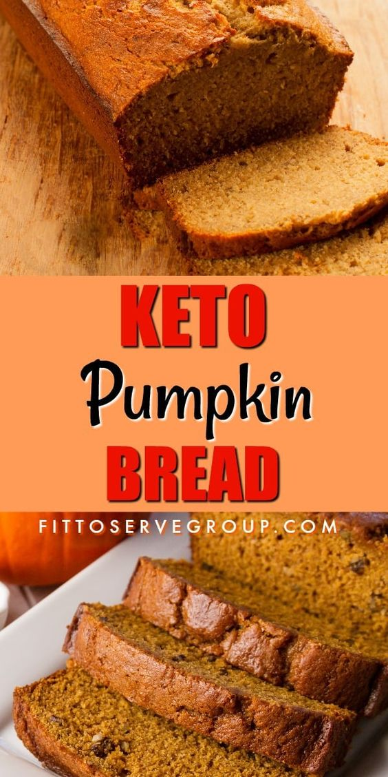 It took a few tries but this recipe for keto pumpkin bread produces the best, most delicious low carb, keto-friendly pumpkin bread. Topped with cream cheese frosting for the perfect autumn treat. #ketopumpkinbread #lowcarbpumpkinbread #ketopumpkinrecipe #lowcarbpumpkinrecipe #lowcarbquickbread #ketoquickbread