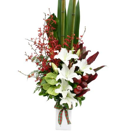 chinese flower arrangement - photo #17
