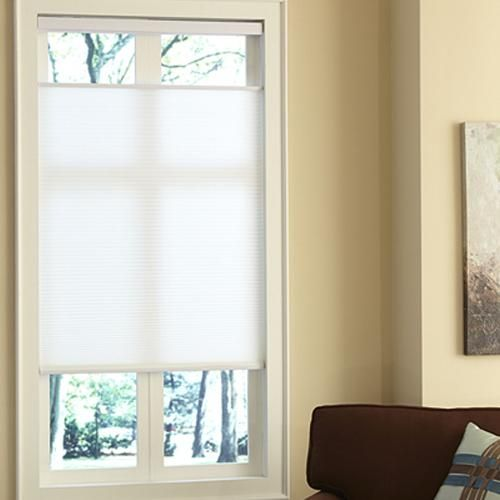 Budget Cordless Light Filtering Cellular Shade Window